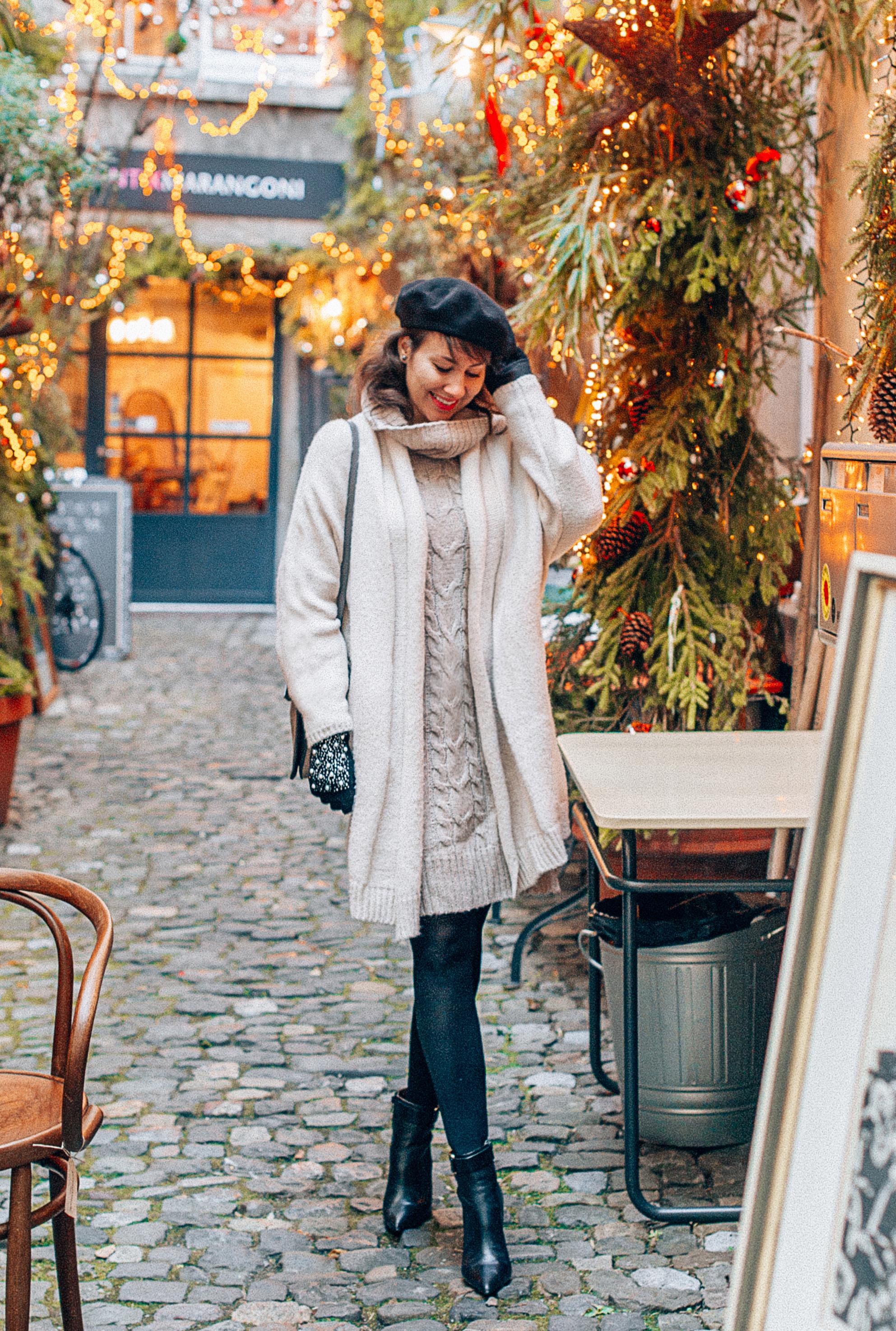 Strolling the streets of Altstadt in Zurich