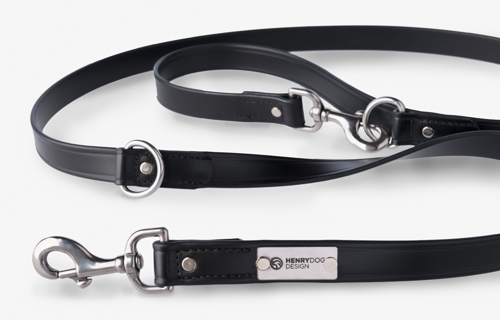 Double D Ring Adjustable Leash