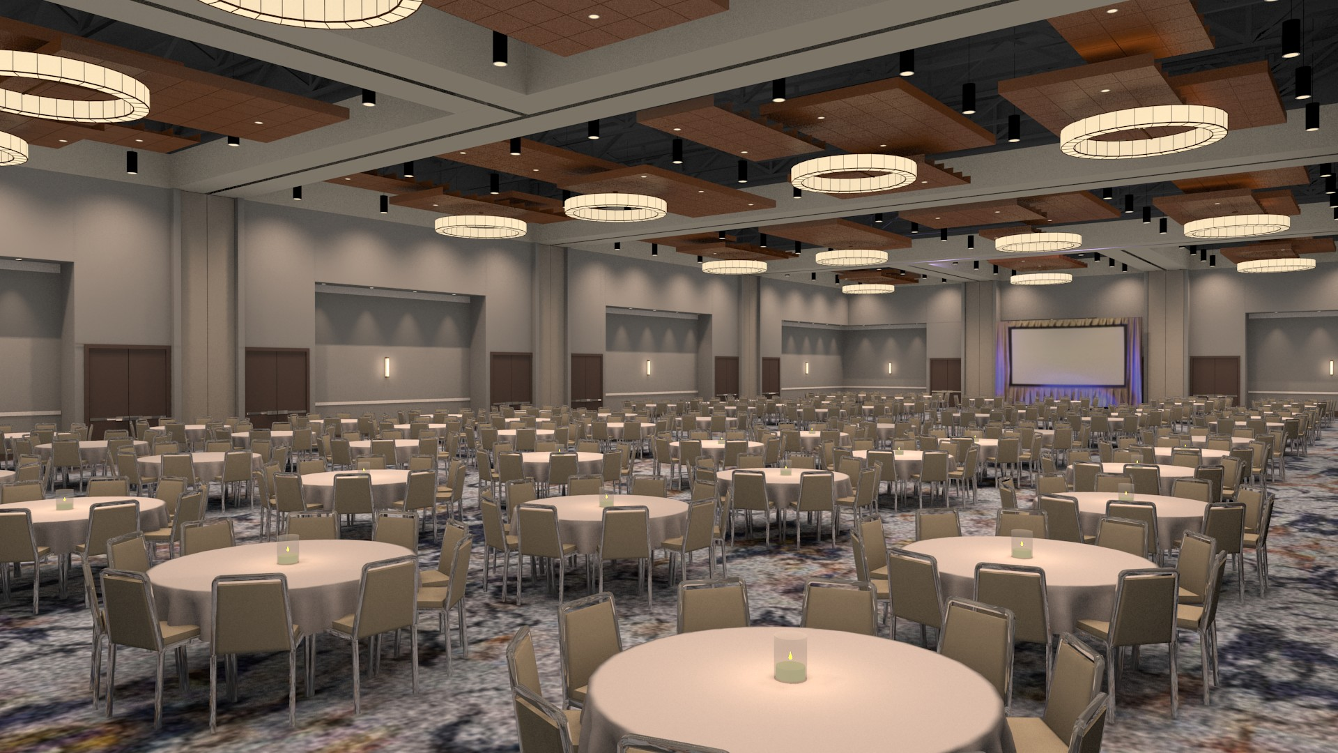Red Wolf Convention Center — Ballroom