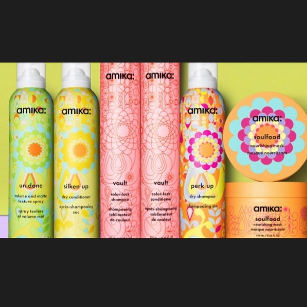 Now carrying the full Amika line of hair care products!! We love them & especially love the way they smell!! 💁🏼‍♀️🌸