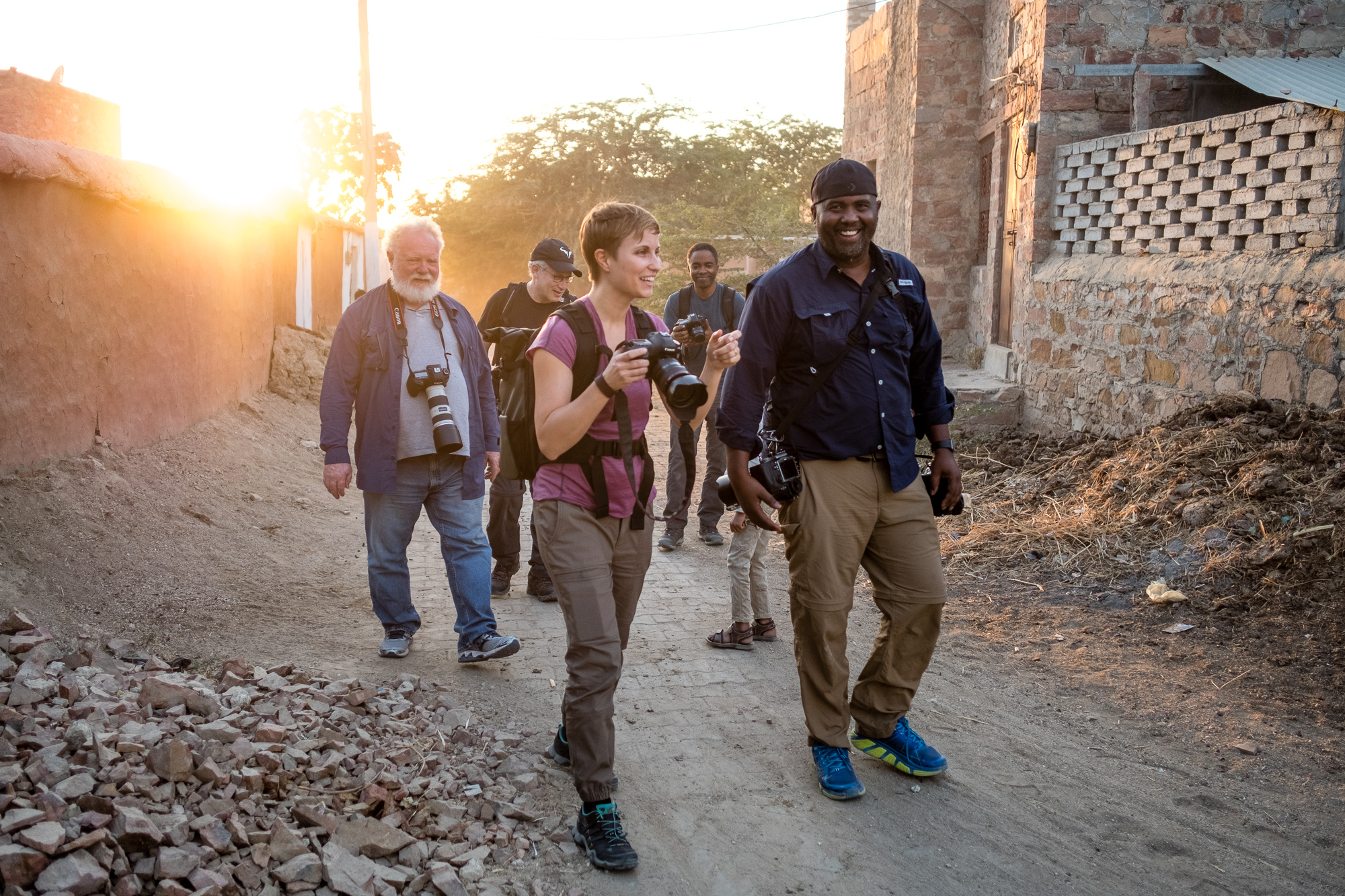 "My most awesome group of travelers I took on a ""Road Trip Through Rajasthan"" for a photo workshop."