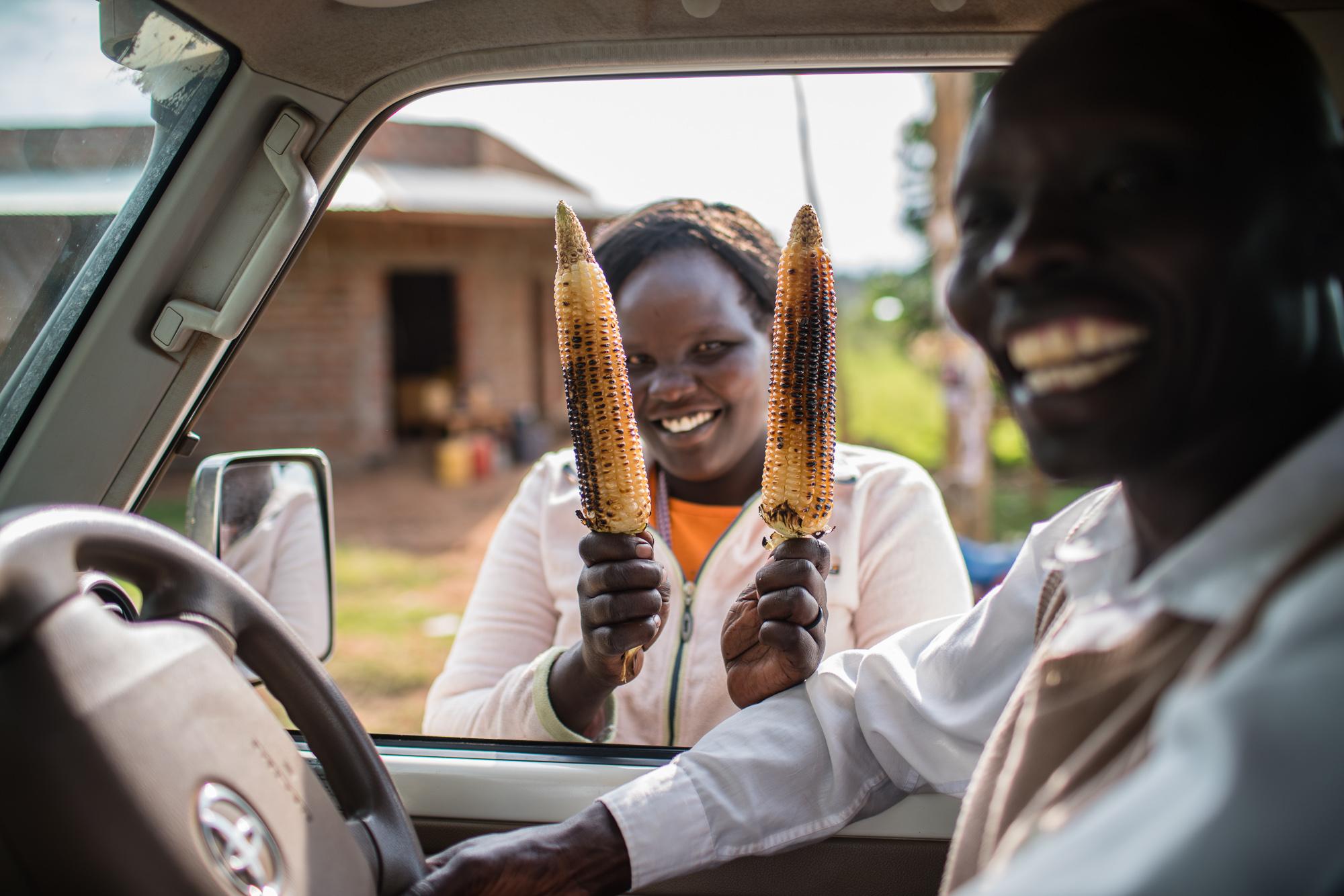 Hospitality everywhere you go in Kenya.