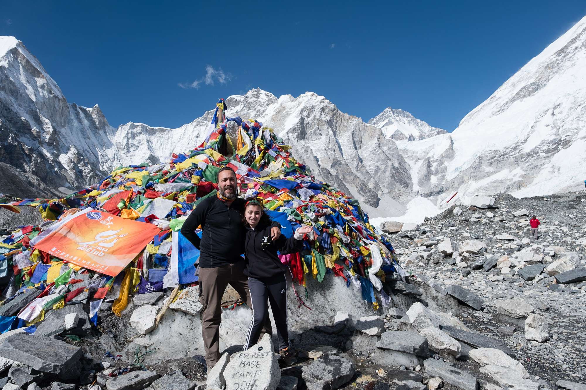 Went with my 15 year old daughter to Everest Base Camp. One of my proudest moments.