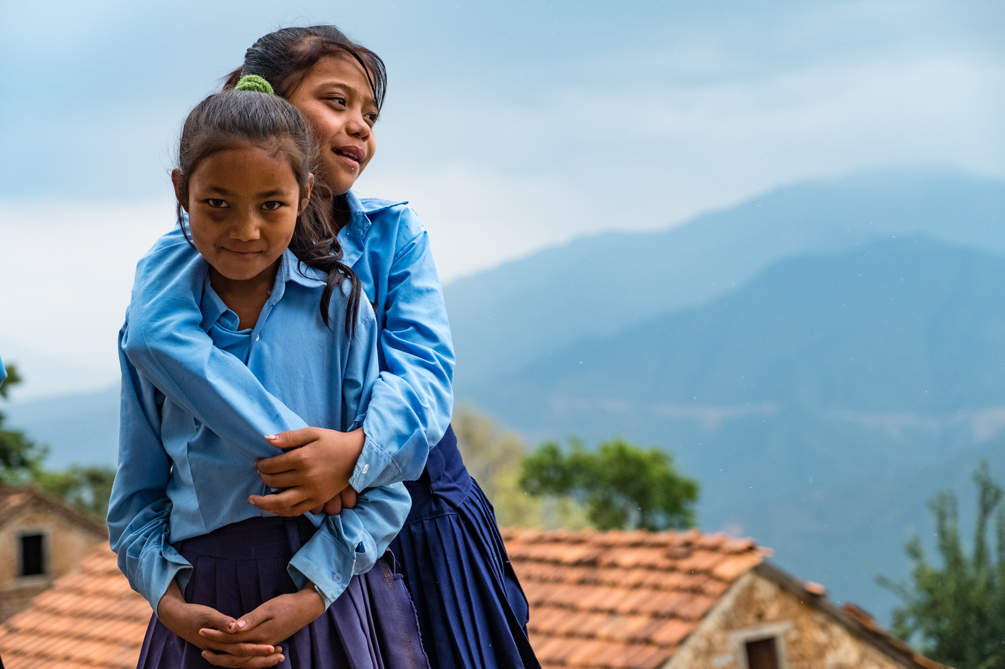 Fundraisng for Kids of Kathamdu also helped build schools devastated by the earthquake in Nepal