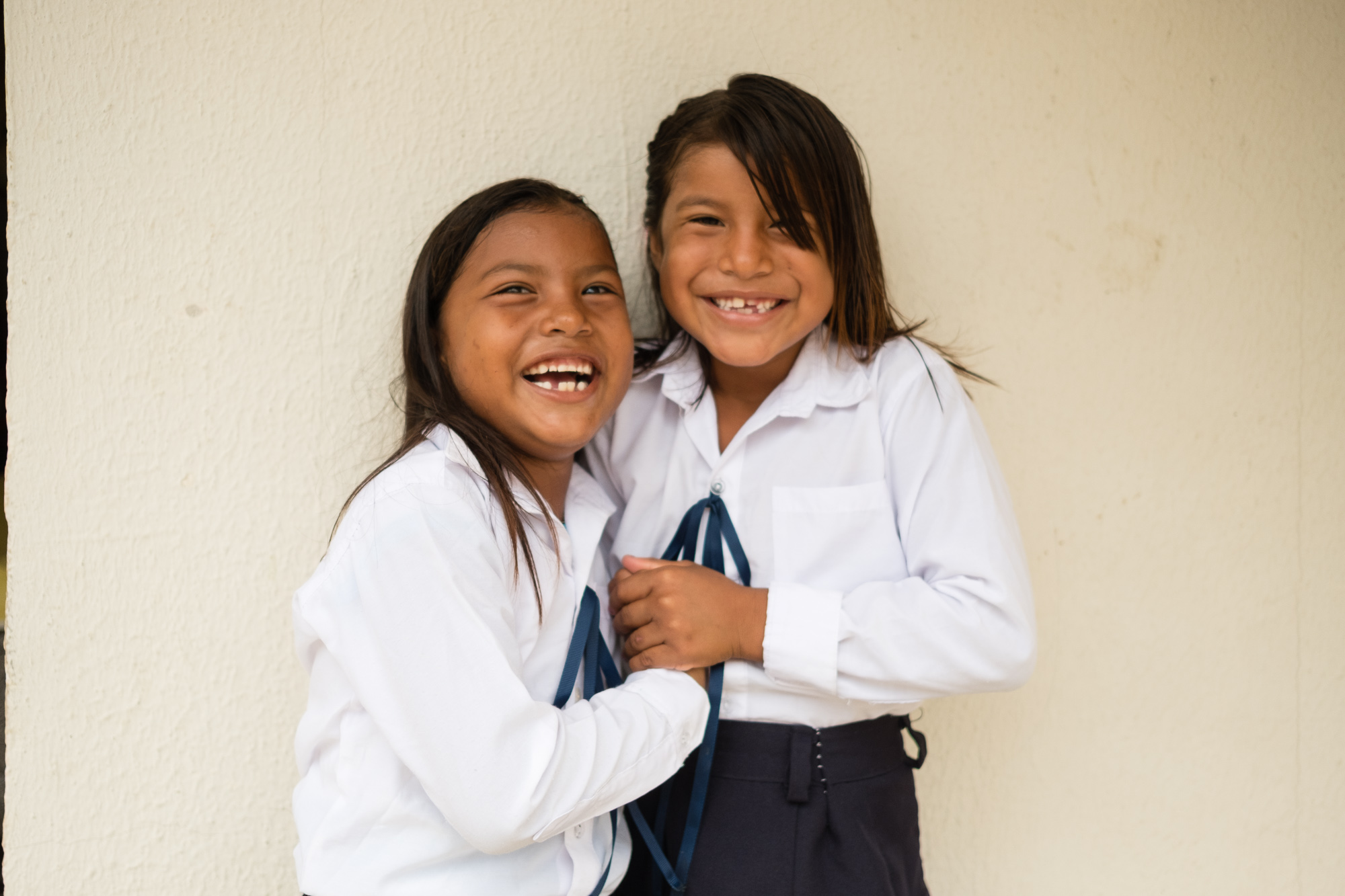 Two sisters in Pedernales, Equador. Documenting relief work after the earthquake.