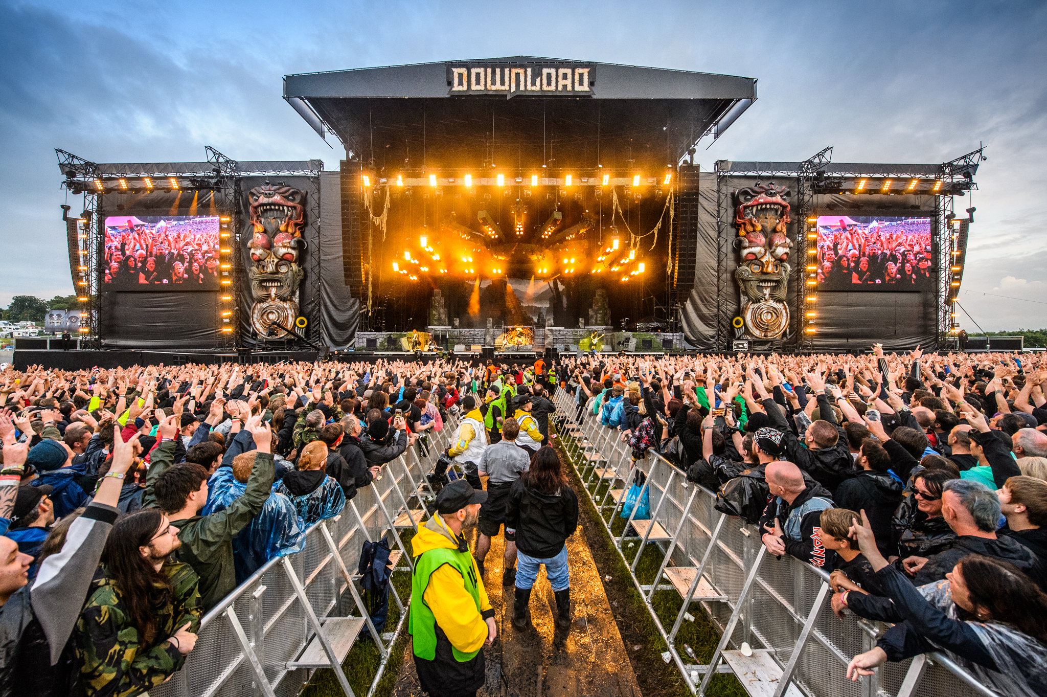Guns N' Roses will be prowling this very stage in a little over two months.