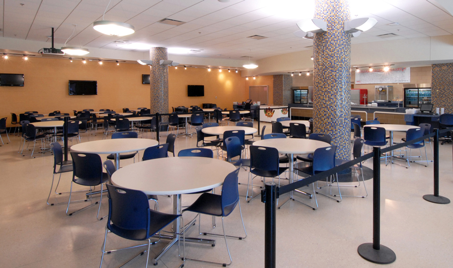 Holy Cross School - Cafeteria