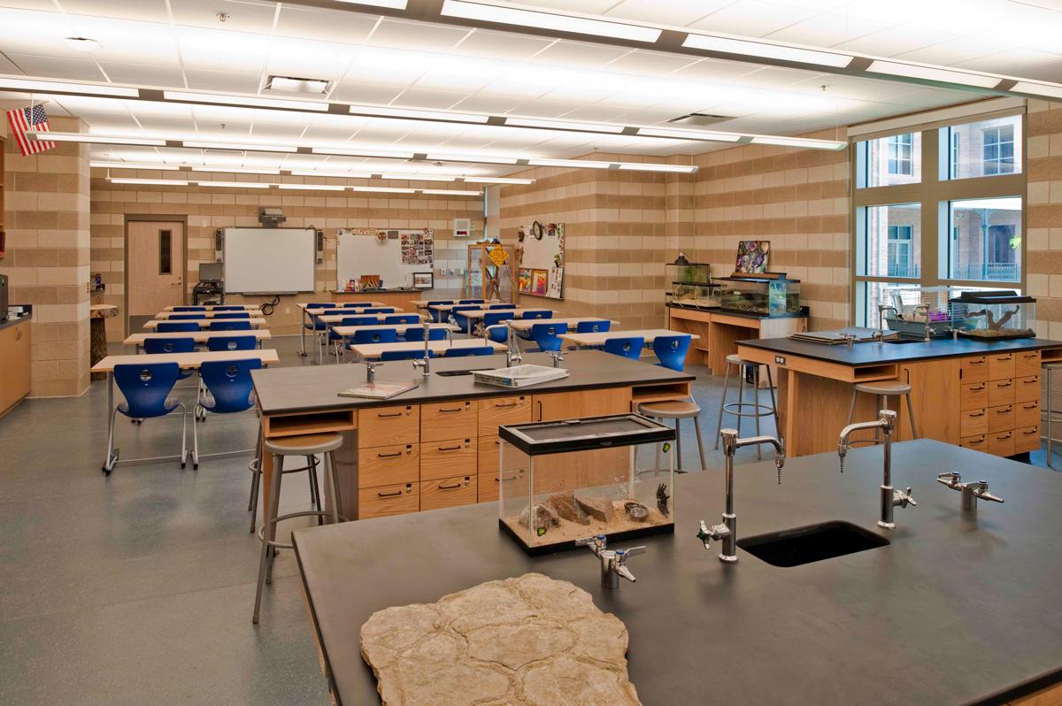 Holy Cross School - Science Classroom