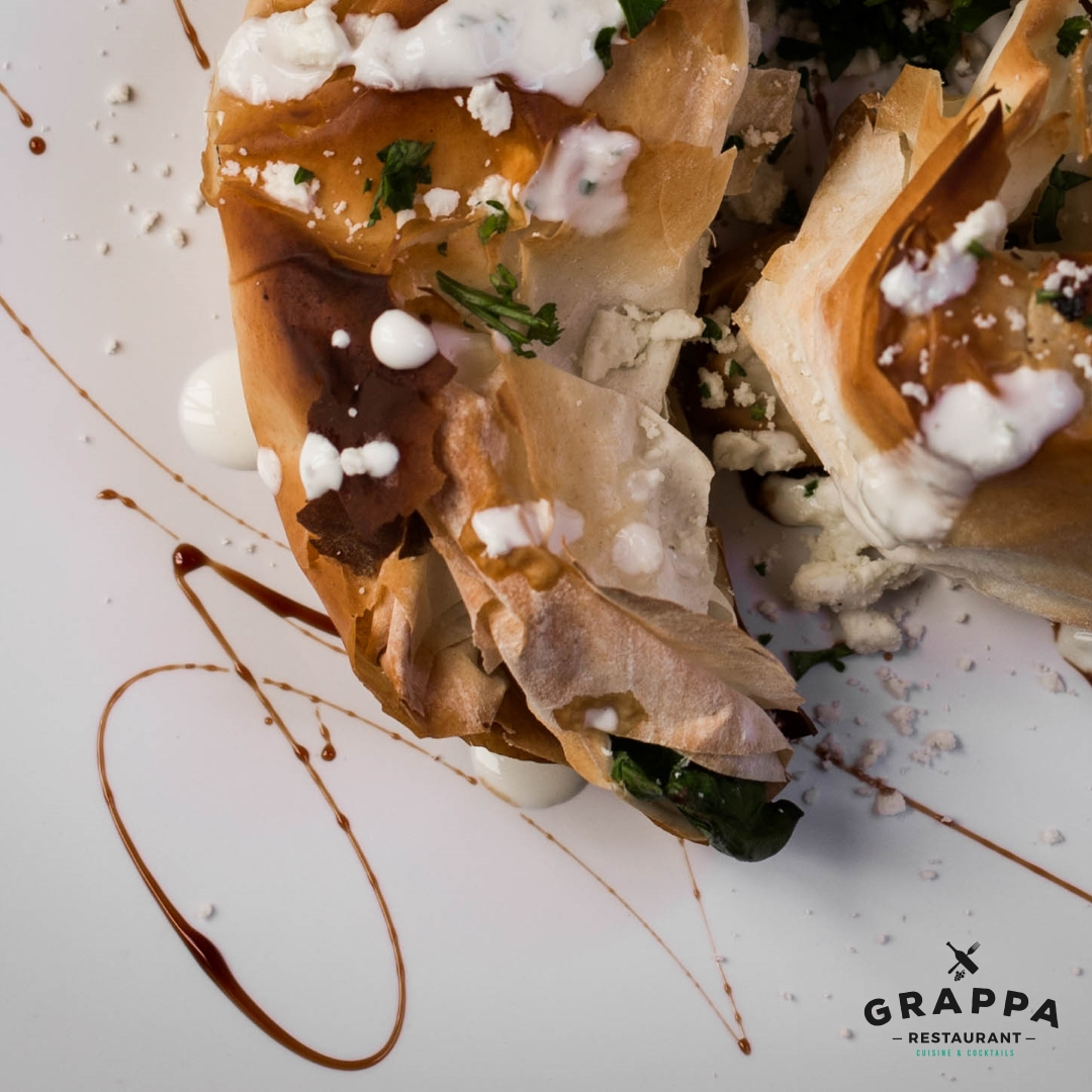 Queen Anne Date Night with Grappa Seattle. Share the spanakopita
