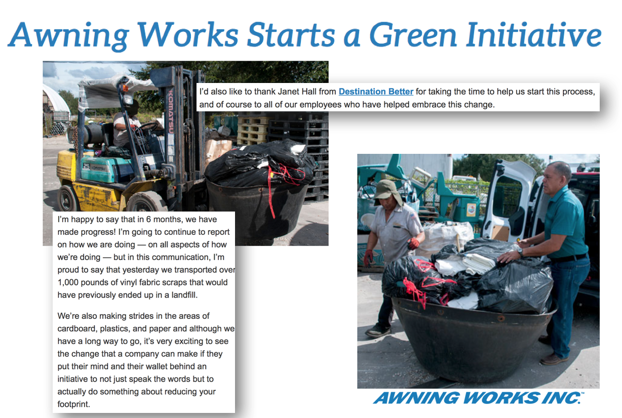 Click to read the full article by Awning Works Inc.