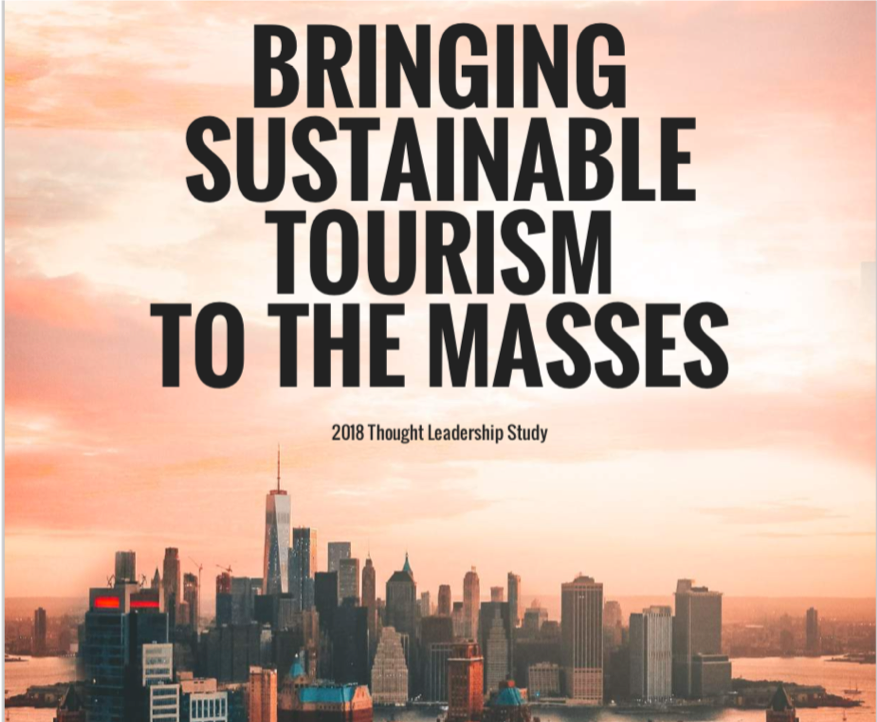 DESTINATION BETTER WAS A PARTNER CONTRIBUTOR TO THIS THOUGHT LEADERSHIP STUDY, with impact travel alliance and mandala research, WHICH LAYS OUT 32 TACTICS FOR BUSINESSES TO BOOST THEIR revenue BY PROMOTING THEIR SUSTAINABILITY PRACTICES - LET'S IDENTIFY AND COMMUNICATE THOSE FOR YOUR BUSINESS.