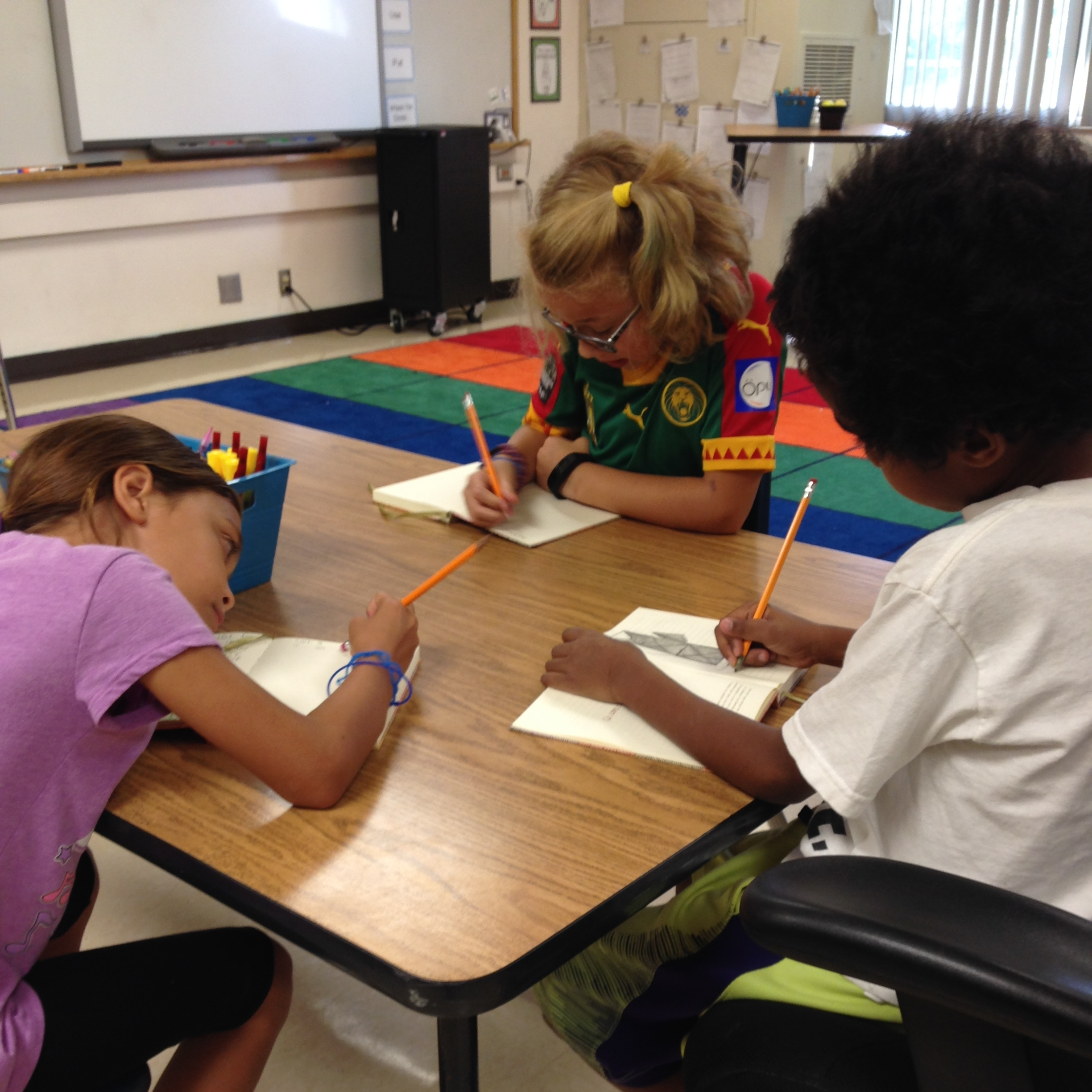 In the Classroom - What happens when kids starteach day by writing down a list of things they are grateful for?