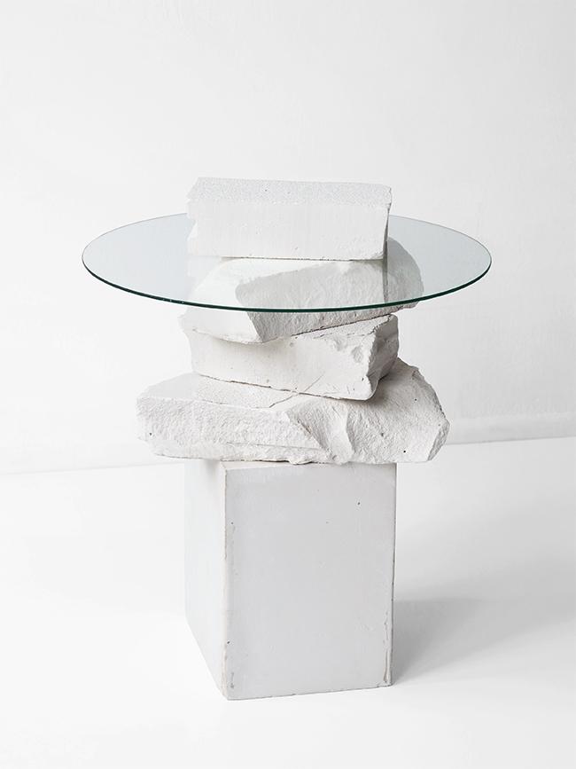 Unbroken Side Table by  LoveAesthetics