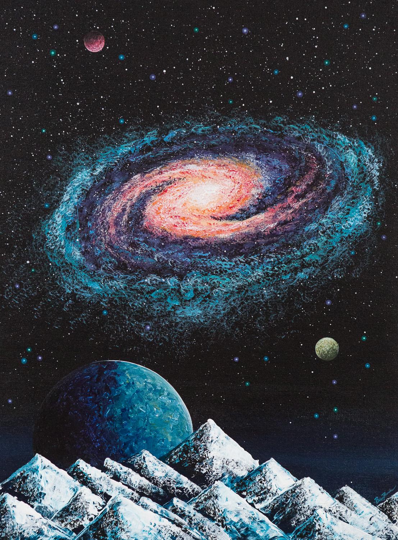 Cosmic Debris (Panel Two)