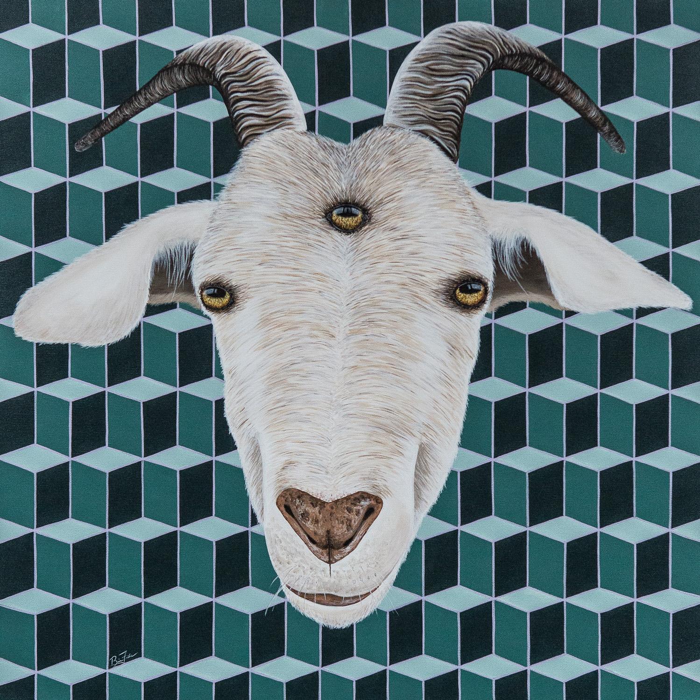 Spiritually Enlightened Goat