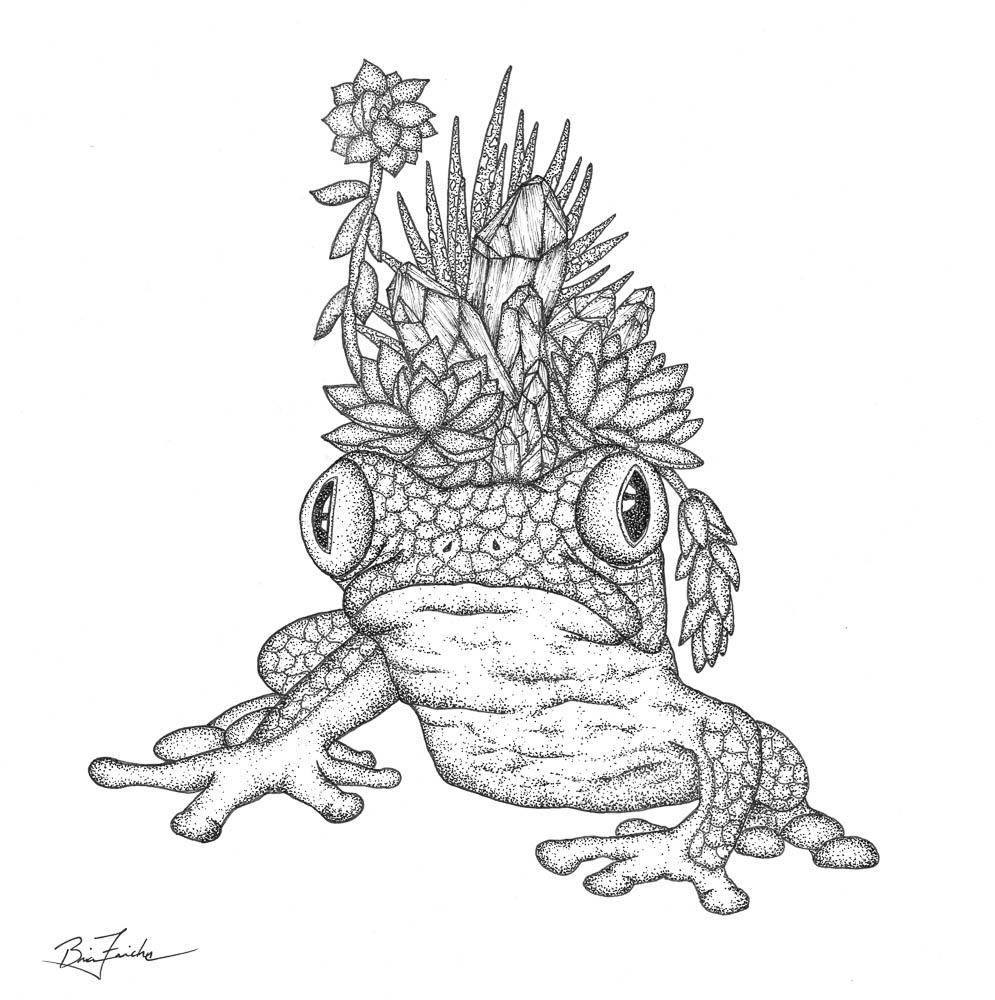 The Tree Frog Prince