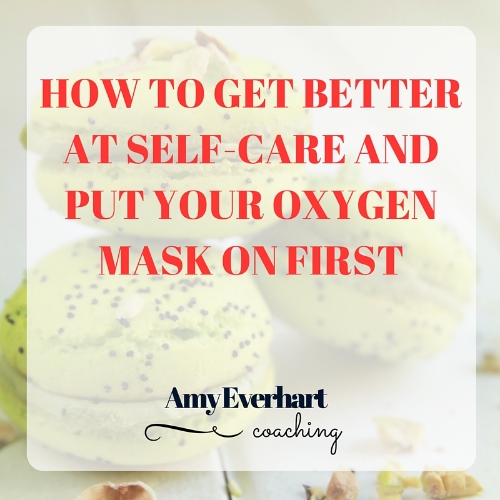 Get better at self-care