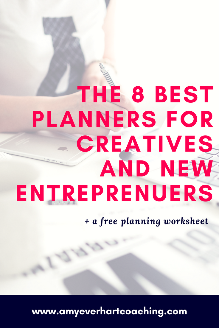 If you have creative aspirations or world-changing dreams to bring to life, picking the right planner for your year is the perfect place to start. I tested a whopping 13 planners to find my right fit.   Here are a few of my faves.  For people with big dreams and big visions, a simple, systemized approach to taking daily, aligned actions toward your goals is golden. Which is why my business, household, and creative pursuits live and die by my catch all, dog-eared notebook and planner.