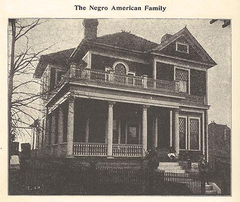 The Hamilton Howell House Circa 1890