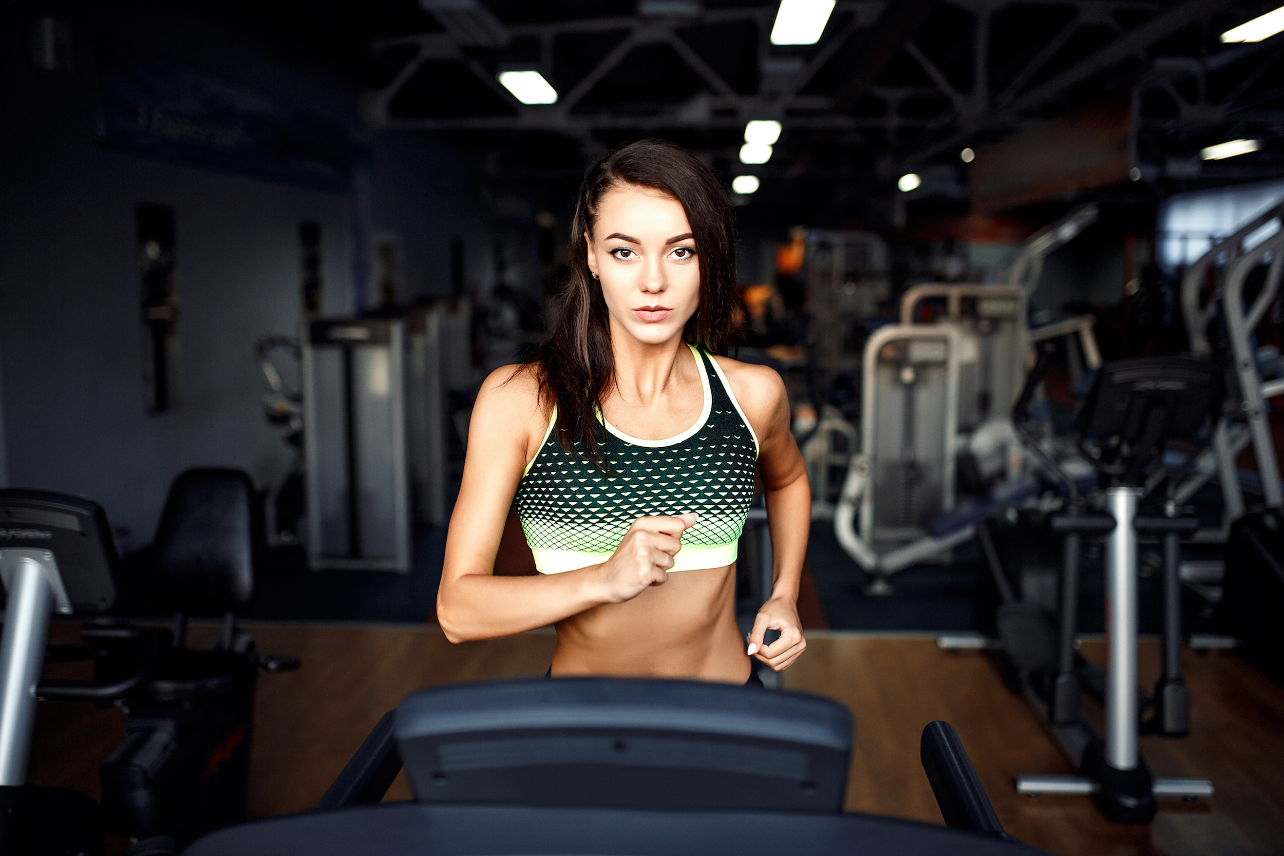 Running on a treadmill is one way to add cardio to your life