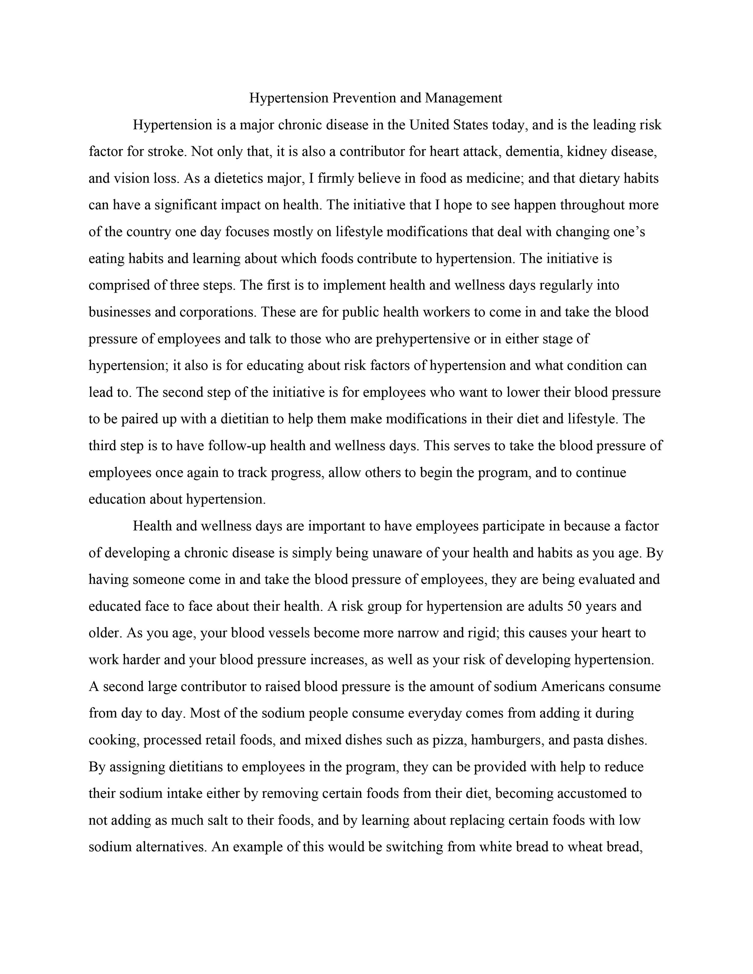 Natalie Olrich Essay, Page 1