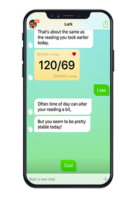 Let Lark help you track your exercise levels for lark employers.