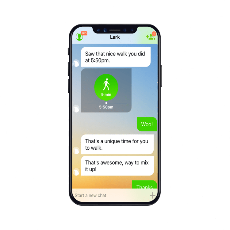 1-on-1 private health coaching app