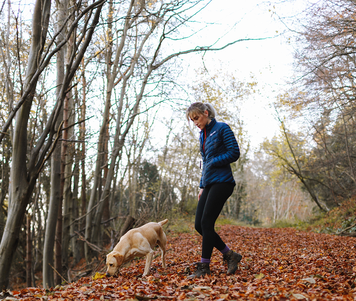Get your daily 30 minutes of exercise with your pet with a brisk walk