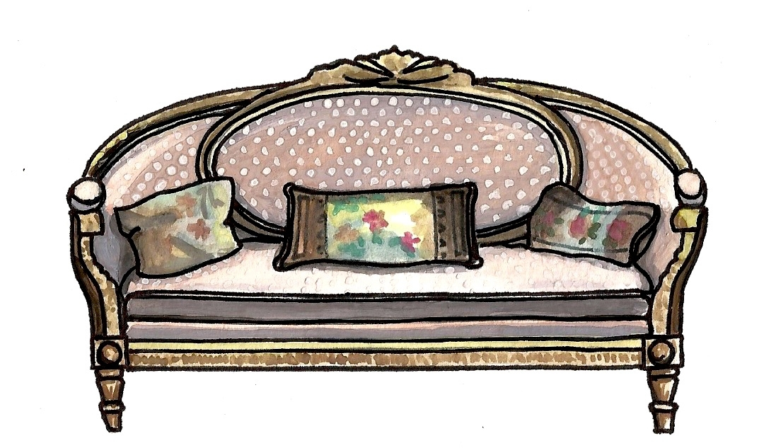 Emily Gilmore's Couch