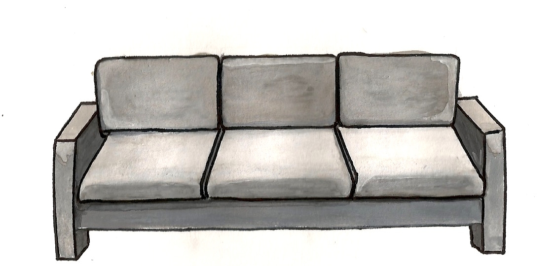 The Office Couch
