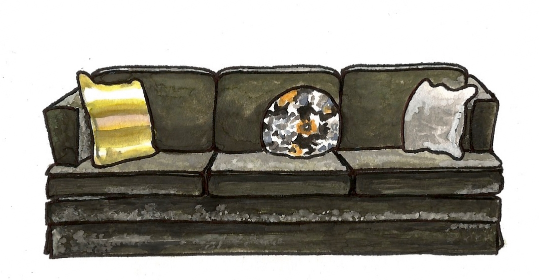 Mary Tyler Moore's Couch