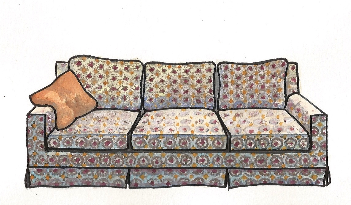 Three's Company Couch