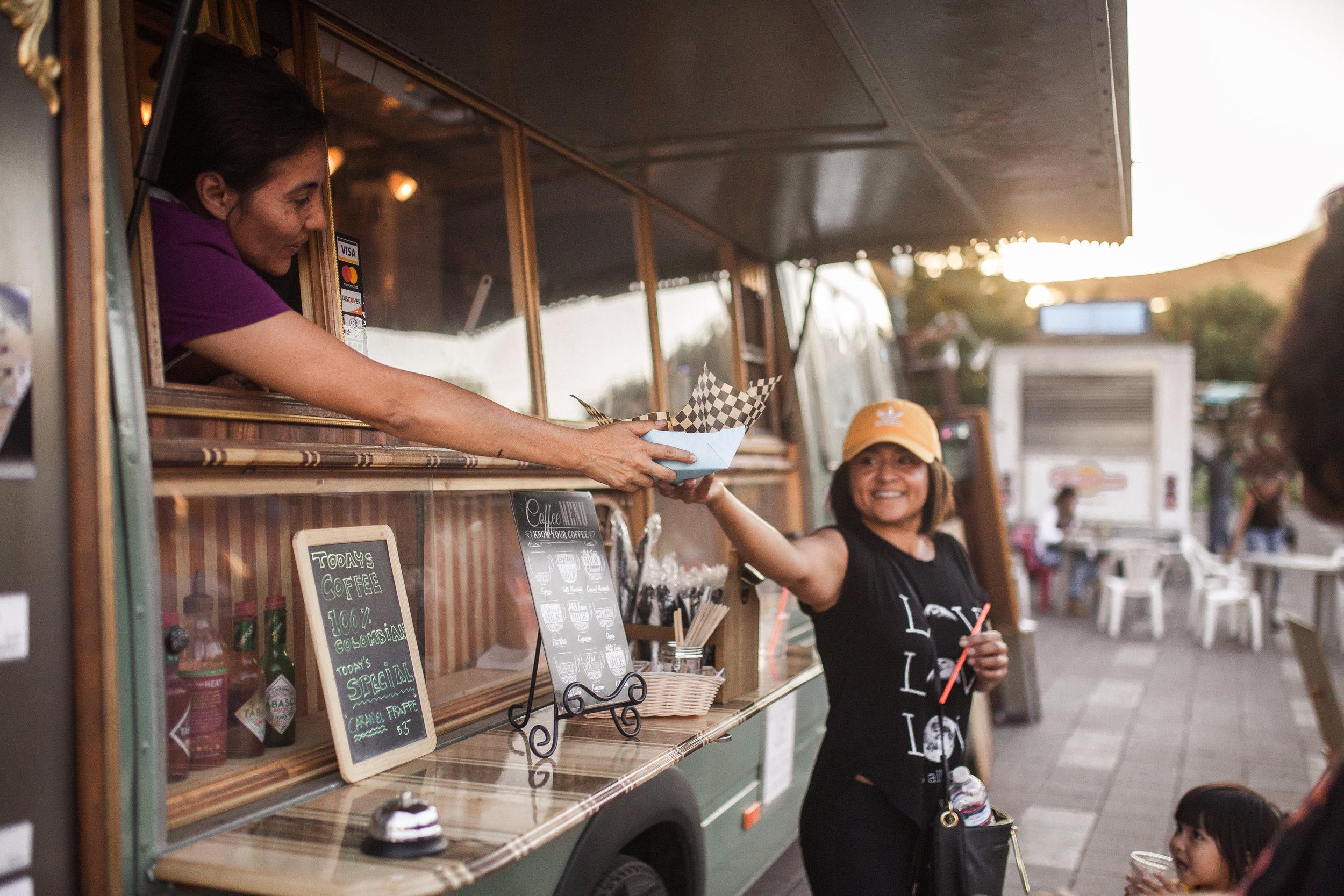 Food Truck Festival Shopping Outdoor Market