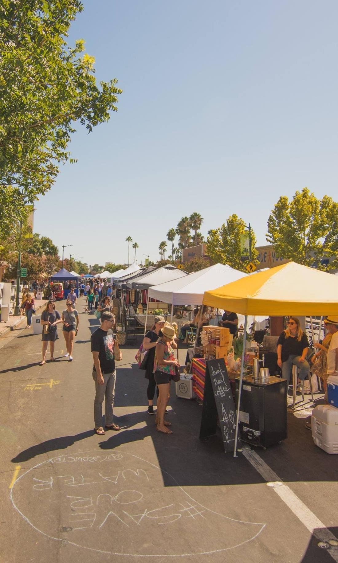 Street Fair Stockmarket Festival Makers Market Open Air California