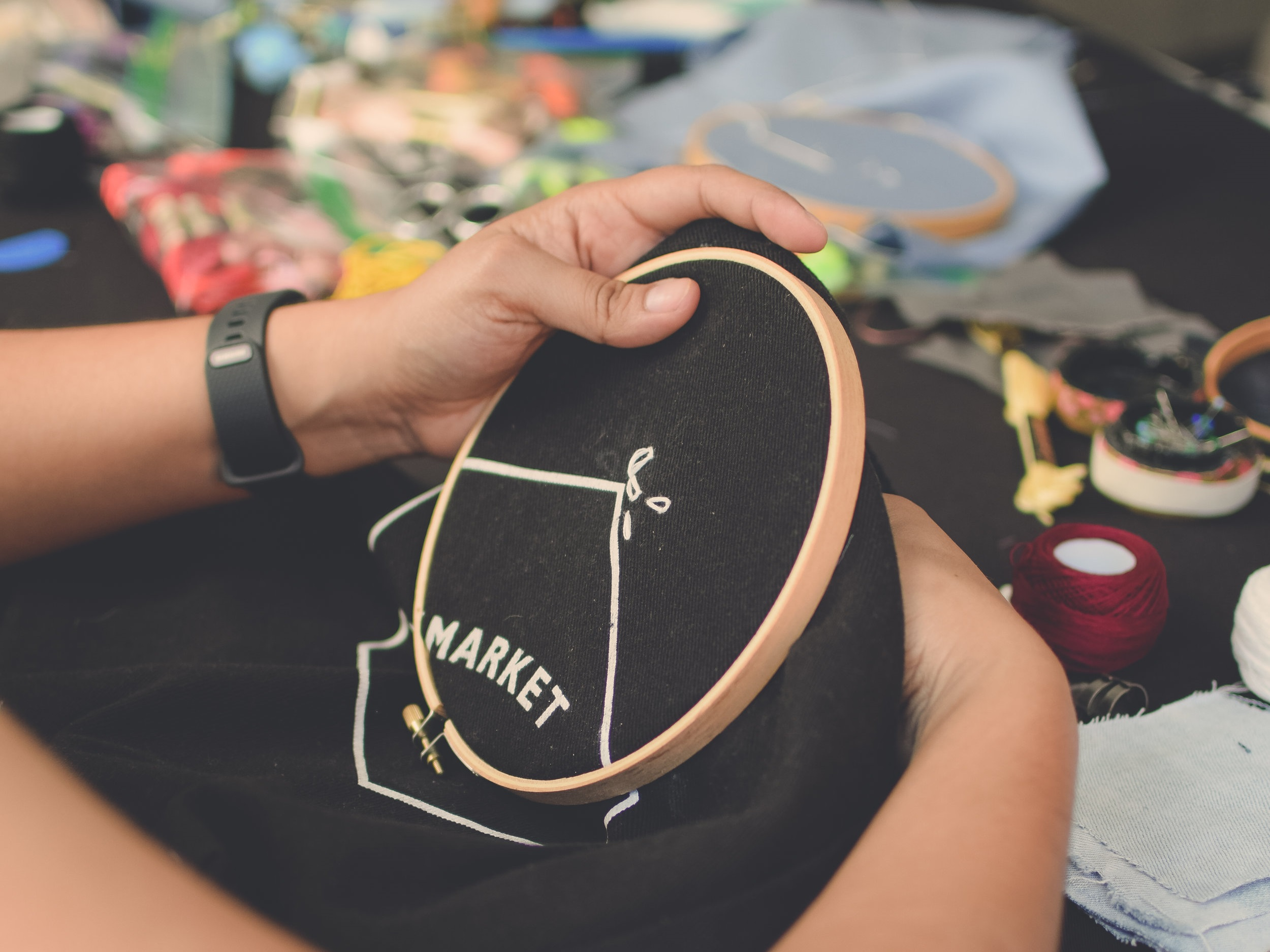 DIY Embroidery Craft Workshop