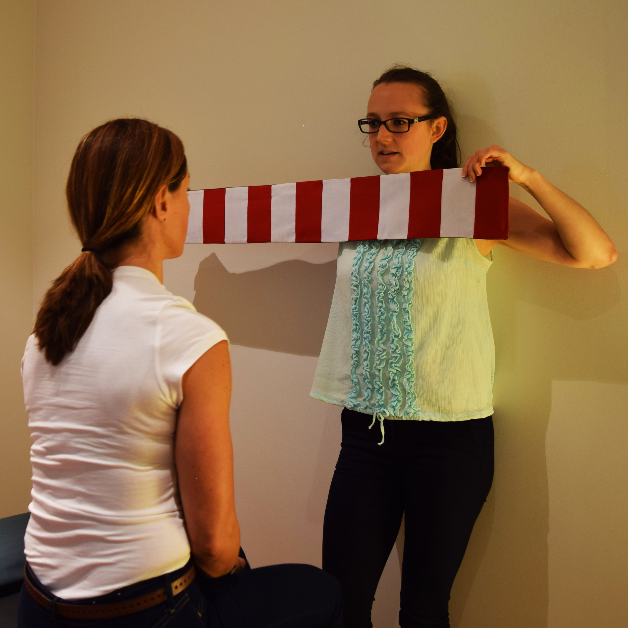 Testing eye movements & reflexes