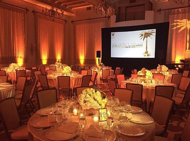 We were honored to do the projection, sound & lighting for the @bh_chamber Best of Beverly Hills Golden Palm Awards at the beautiful @montagebh last night! What a great evening honoring the best of our city, Beverly Hills! ✨Congrats to the winners @crateful_catering @elfiefit @cafegratitude @lilibosse1 just to name a few! 👏🏼📸: @theverycreativefirm @squarerootdesigns