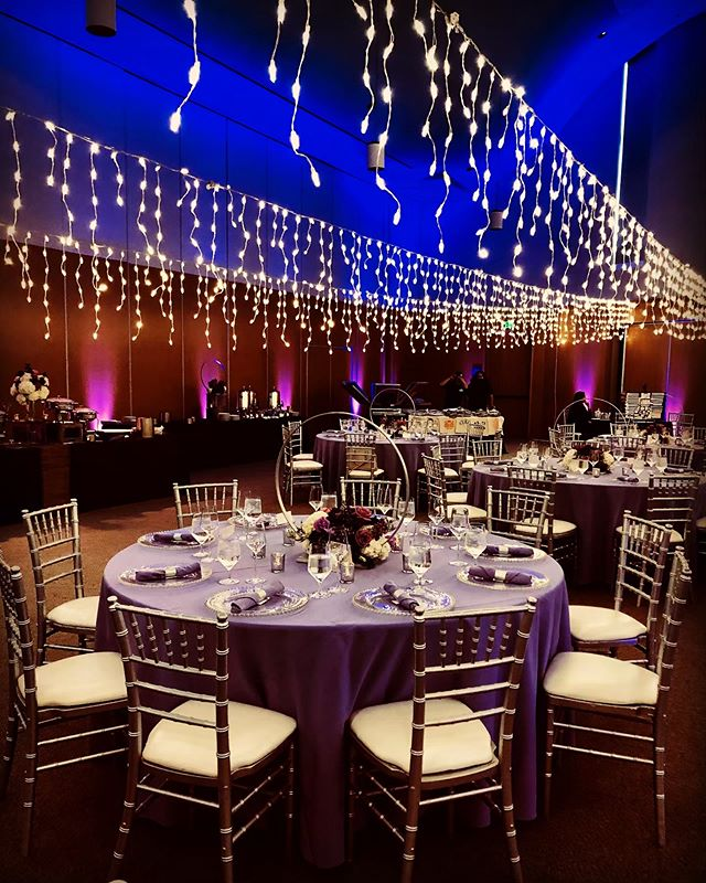 Lights lights lights ✨ A different approach to string lights for the Bat Mitzvah Girl this weekend!