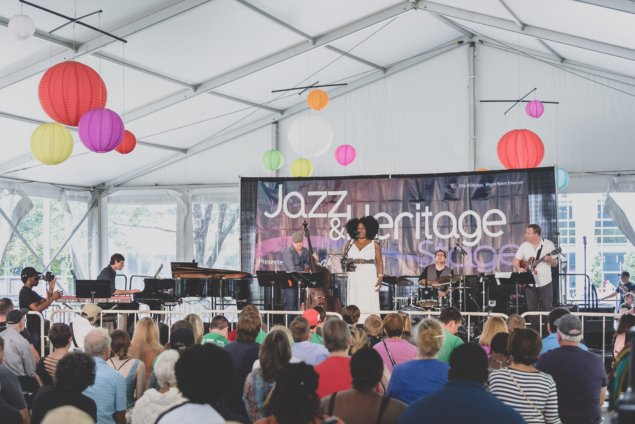 Michele Thomas & SoulMeme - Chicago Jazz Festival 2017
