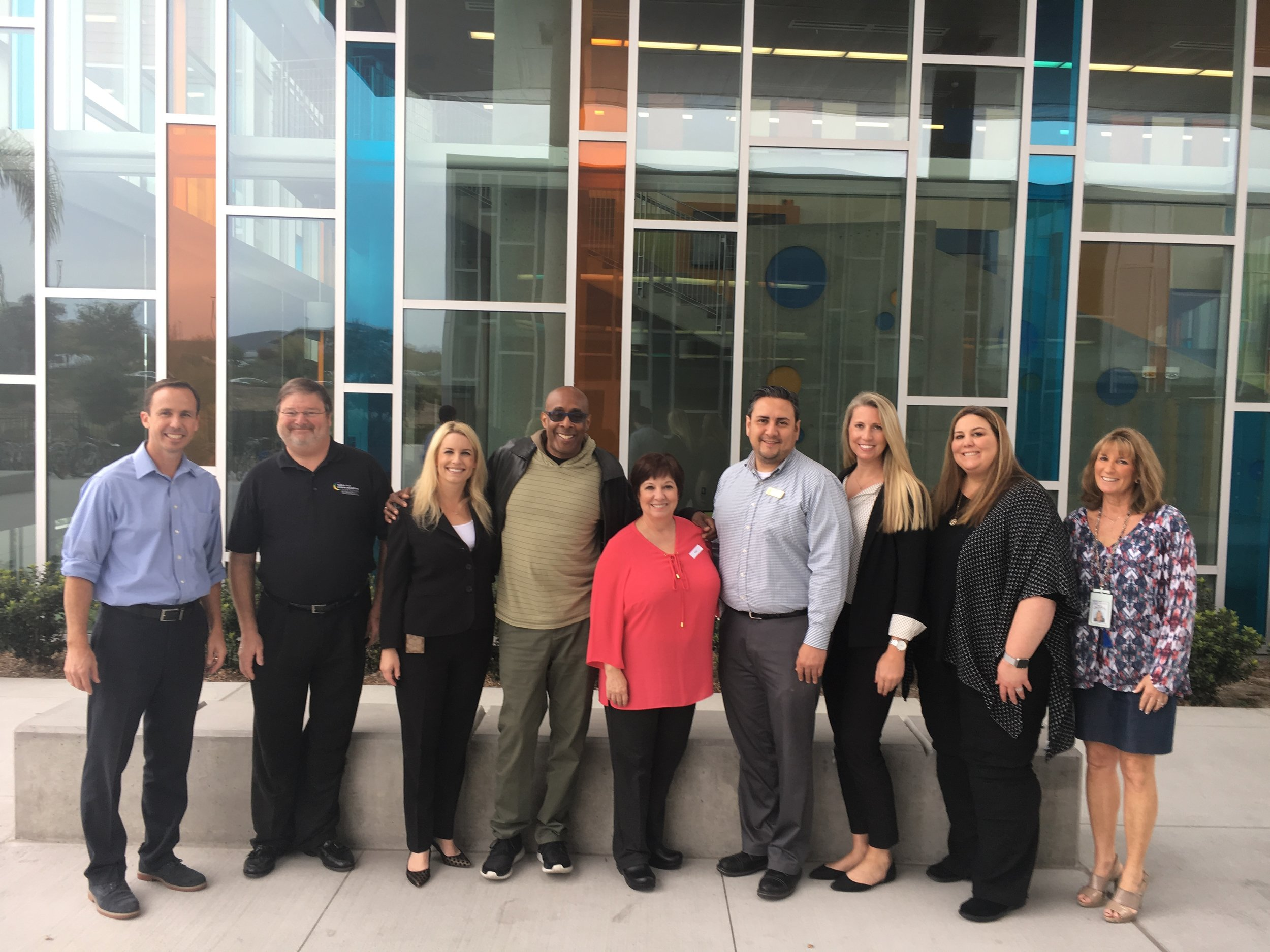 The Integrated Technology Services team at SDCOE enjoyed their up close experience of the collaborative and inviting learning culture at @Design39Campus. We would like to like to extend our sincere thanks for your time and allowing us to experience your amazing campus community. #SdcoeITS