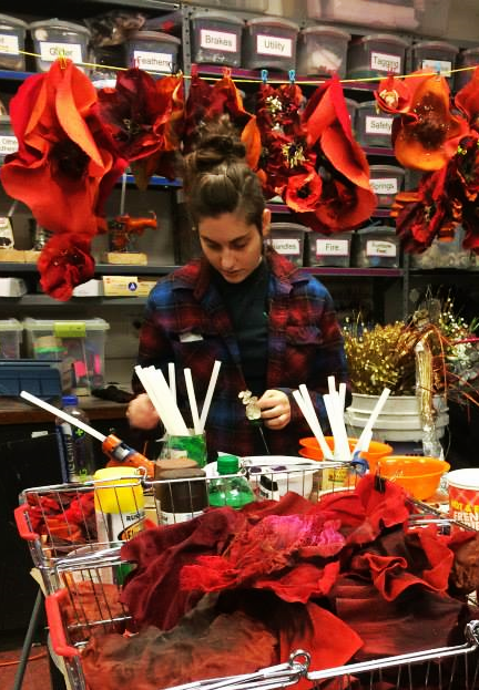 Creating Poppies for  The Wiz