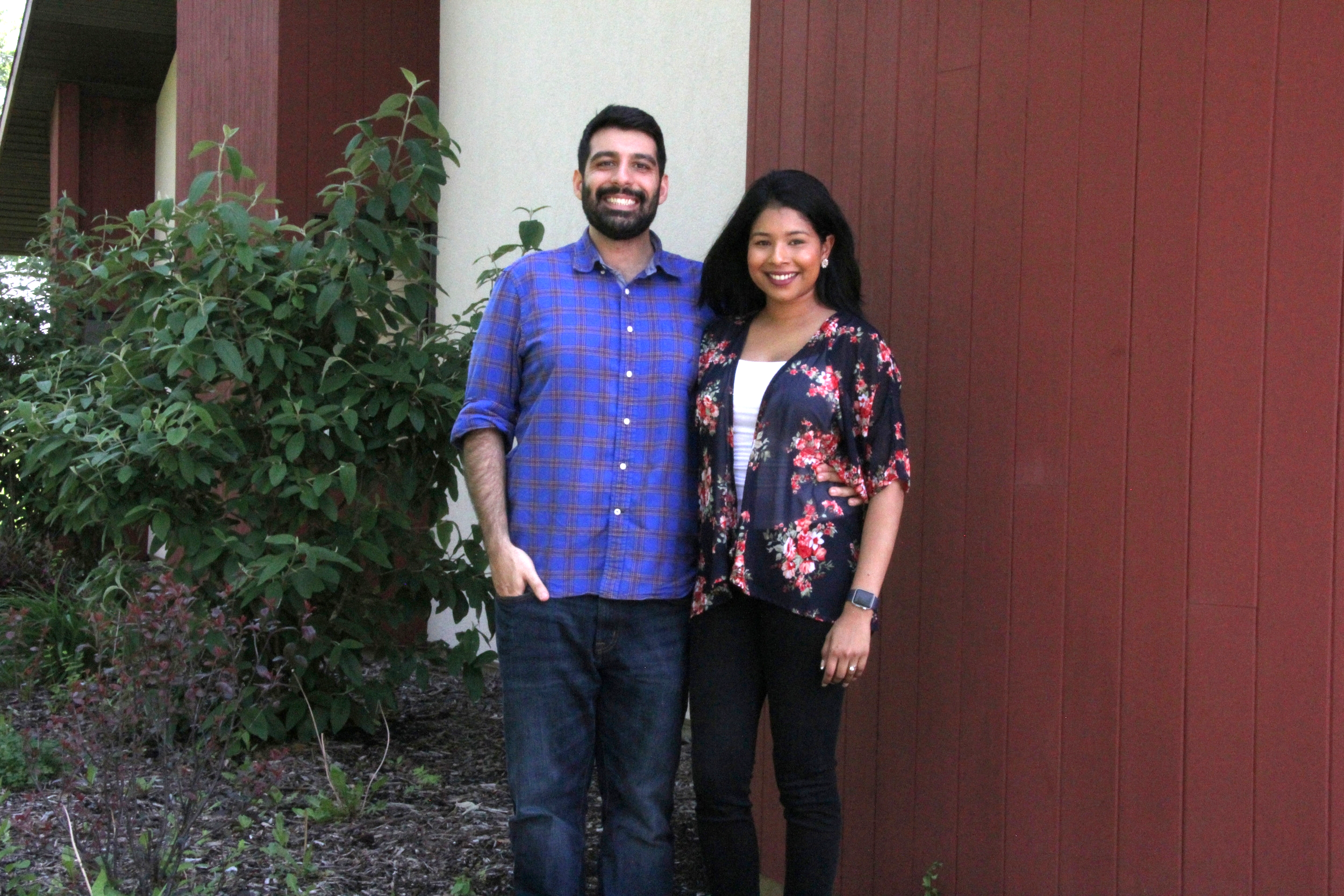 From left to right: Co-Founders Farzad Mesbahi and Cindy Moonsammy