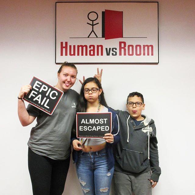 Double the bunny ears! 🐰🐰 . Escape your world. Get lost in ours! . #teamhvr #humanvsroom #escaperoom #lehighvalleyescaperoom #lehighvalley #bethlehemescaperoom #bethlehem #bethlehempa #Pennsylvania #familyfun #birthdayideas #datenight #dateideas #birthday #riddles