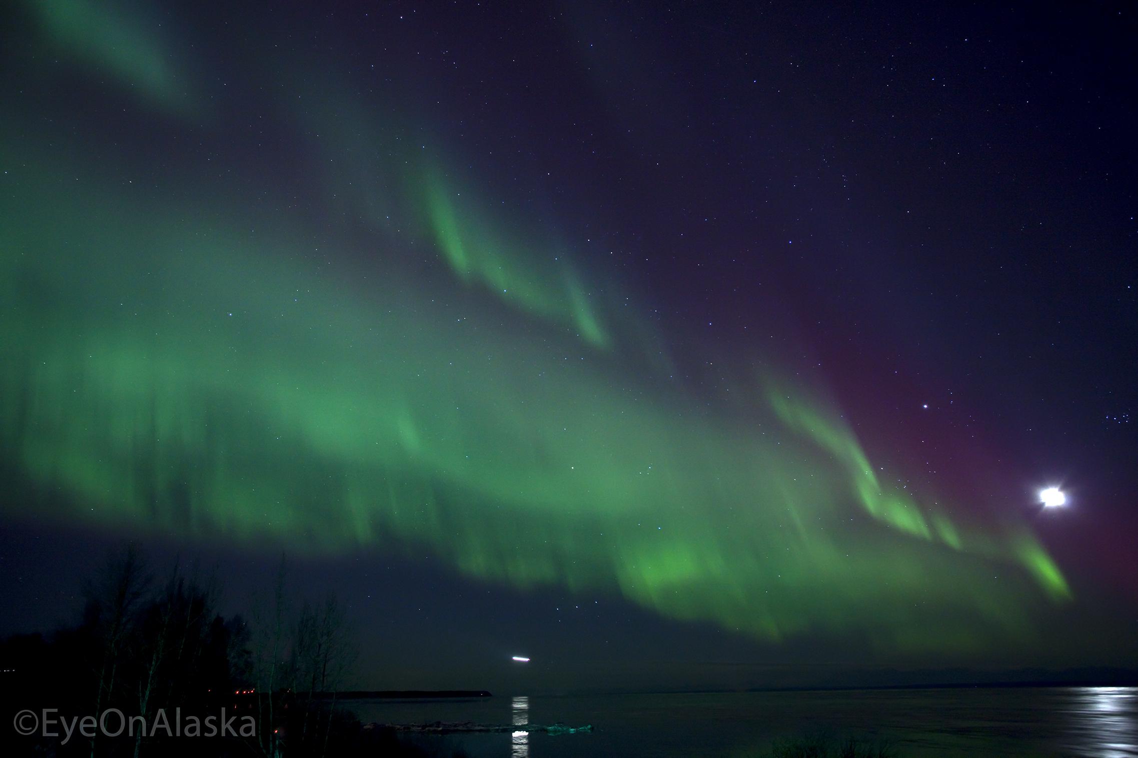 Pt. Woronzof aurora.