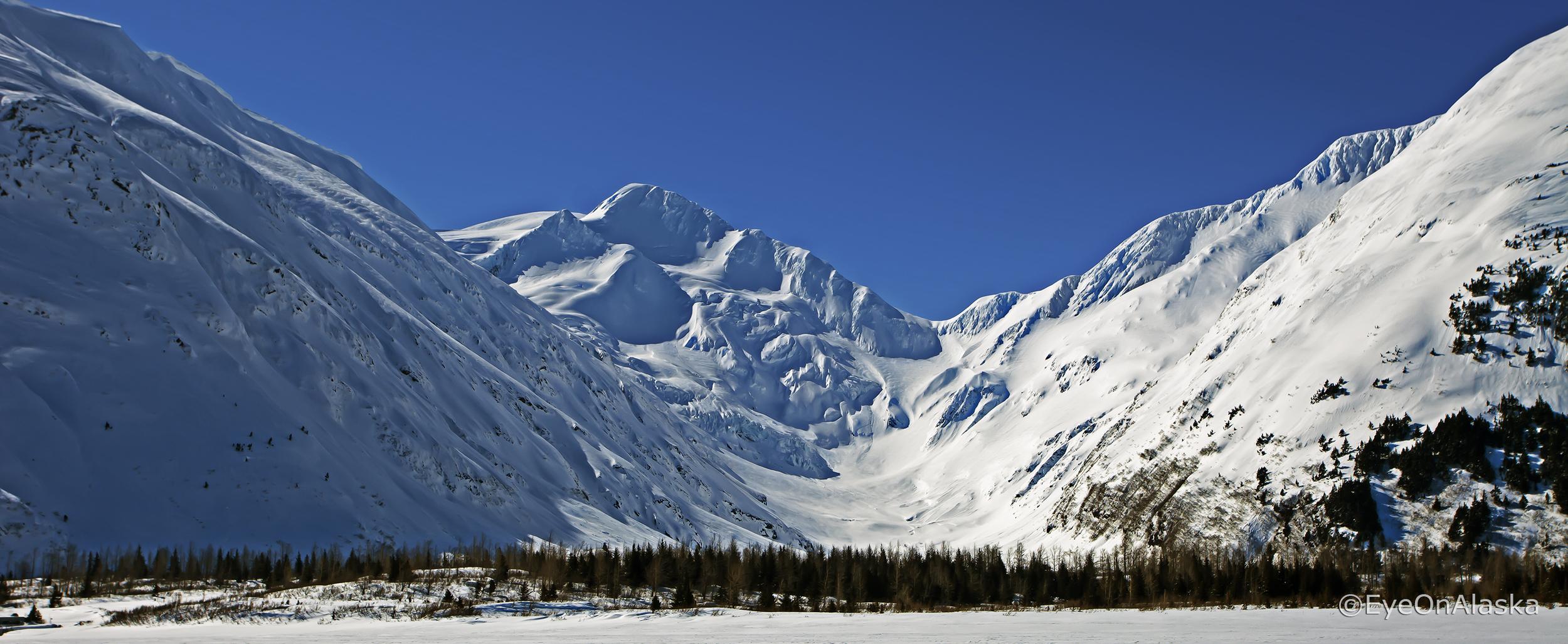 Portage Glacier Valley.