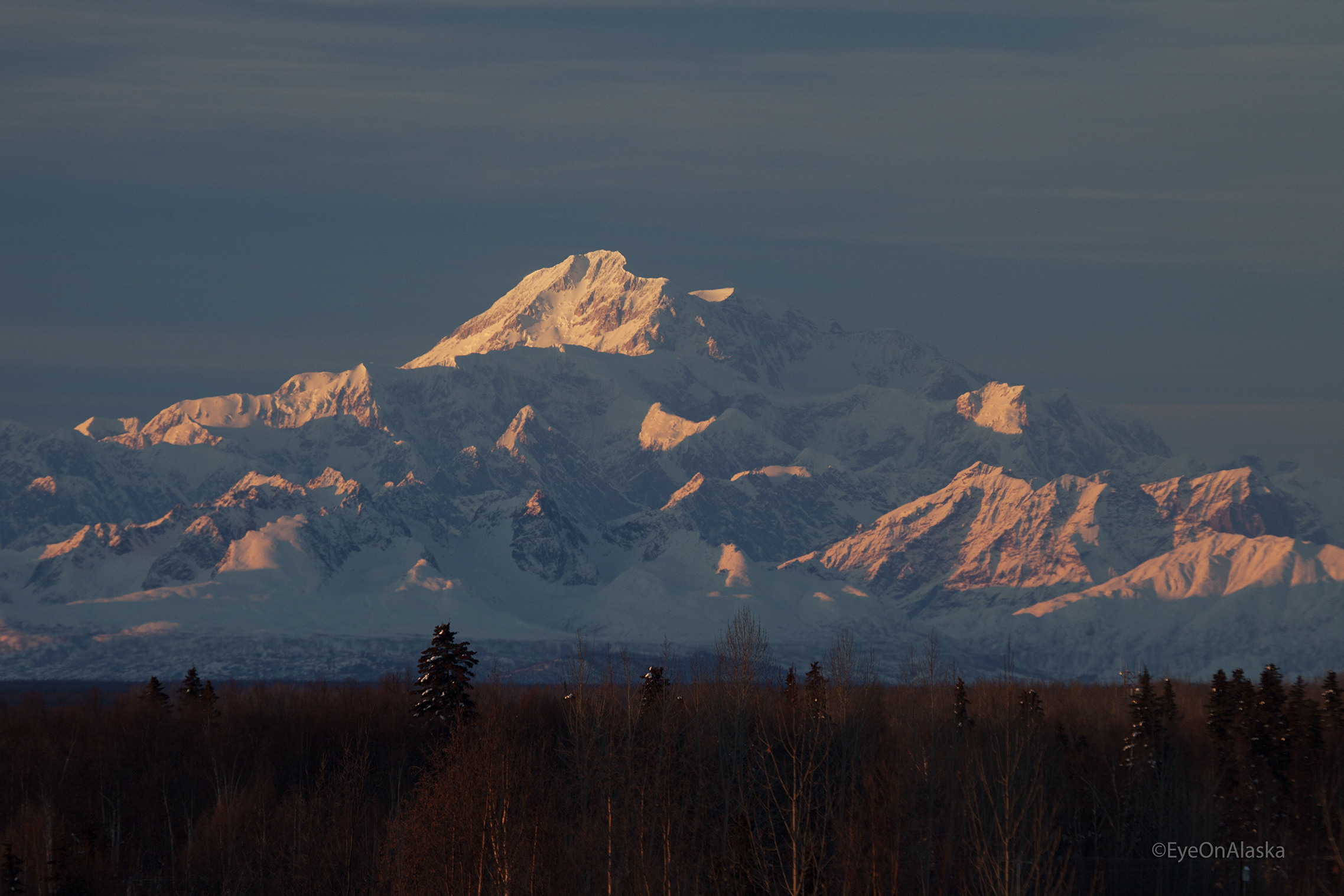 Denali from the Talkeetna overlook.