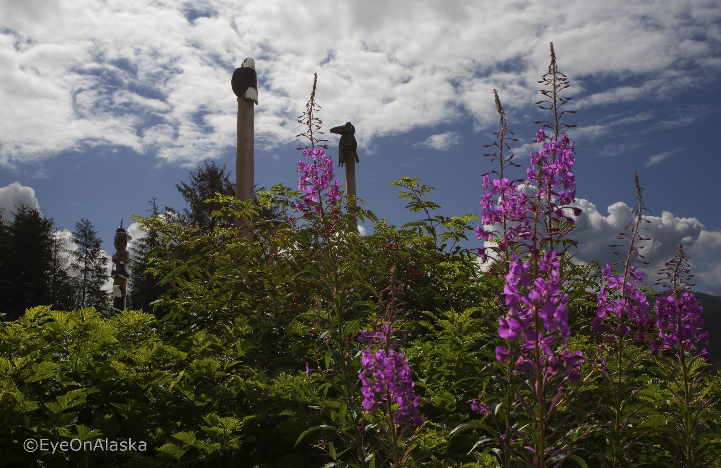 Totem Park, Klawock, POW Island.