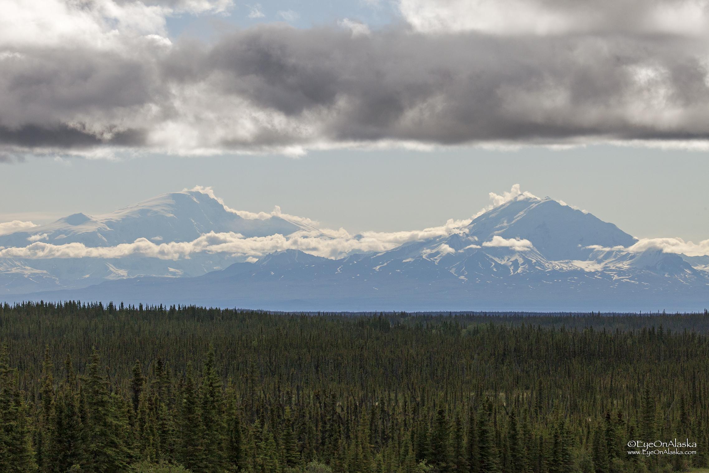 Mount Sanford and Mount Drum