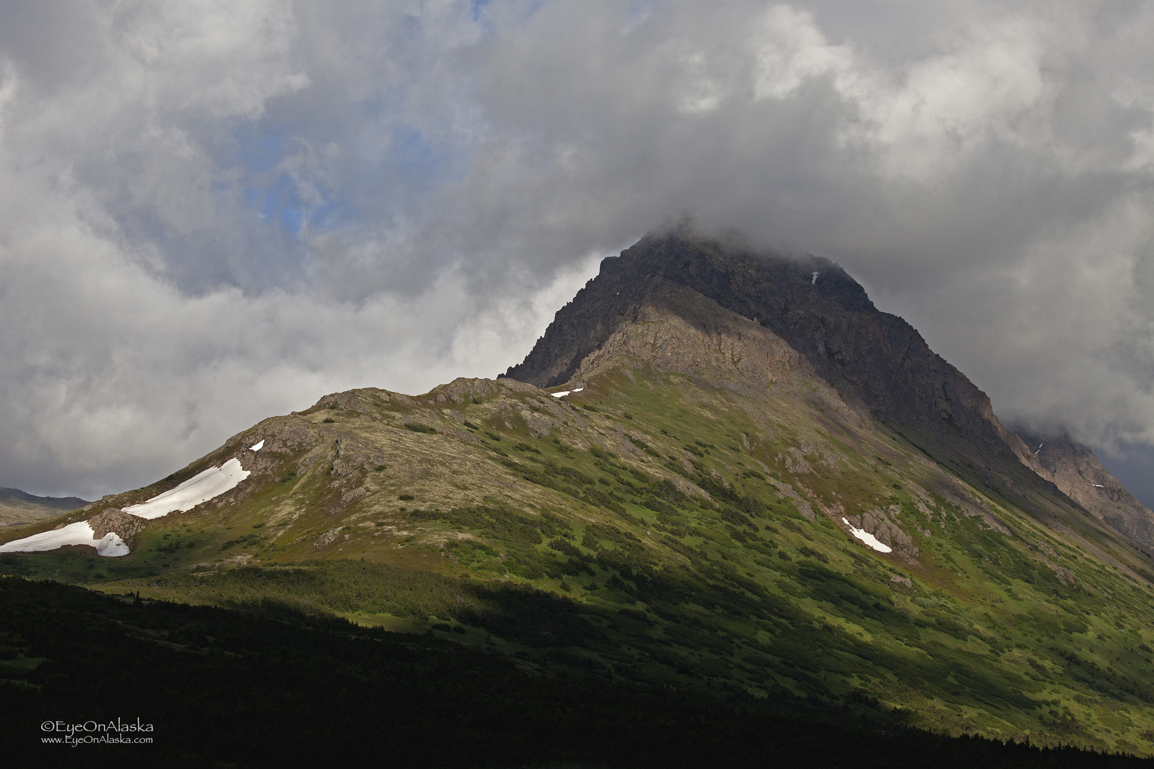 Clouds over the Chugach