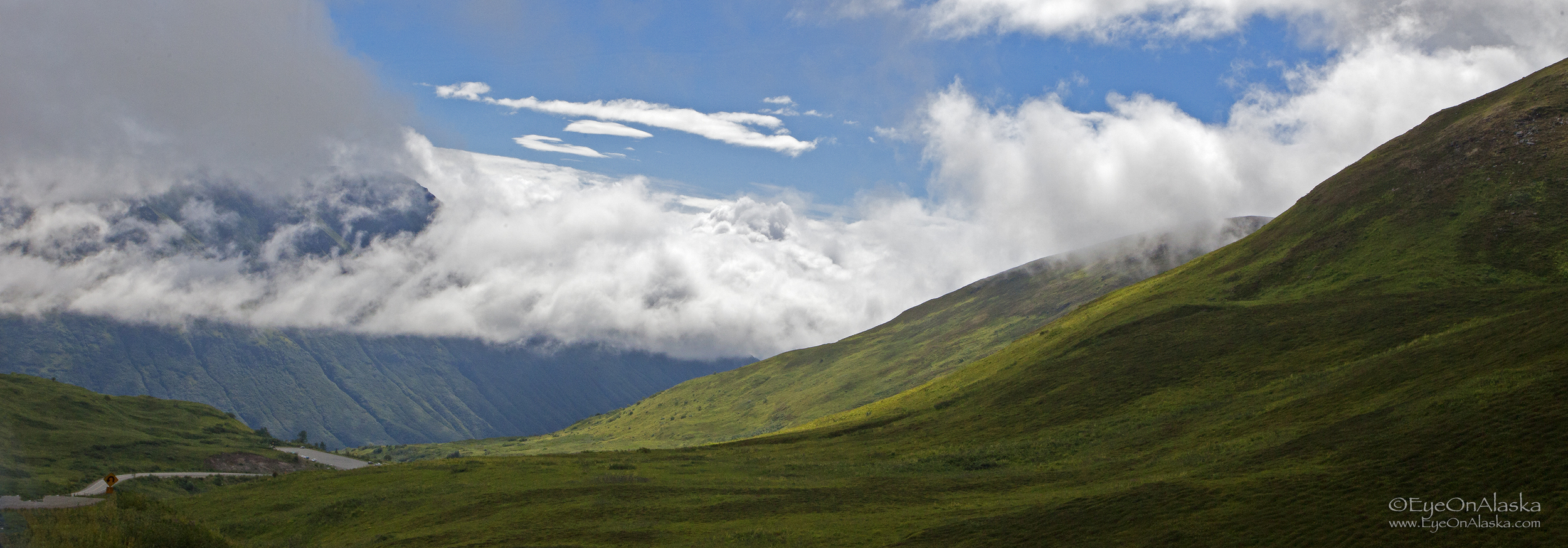The Palmer side of Hatcher Pass.